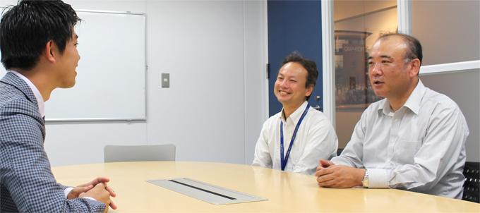 グラフィソフト、前田氏と高橋氏