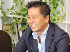 株式会社LUMINOVA JAPAN代表取締役、香月様の写真