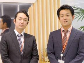 システム・エボリューション株式会社 取締役 香田様、技術本部マネージャー 深山様の写真