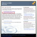 VMware Host Client 概要+ログイン編