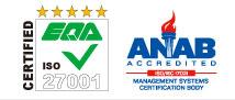ISMS認定のロゴ