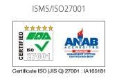 ISMS'/'ISO27001':'IA165181